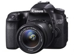 Зеркальная фотоаппарат Canon EOS 70D Kit 18-55 IS STM