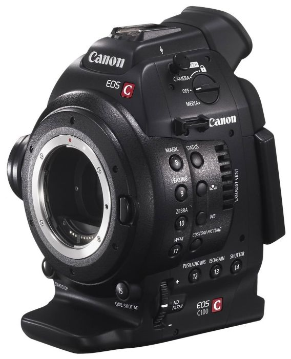 Видеокамера Canon EOS C100 Mark II