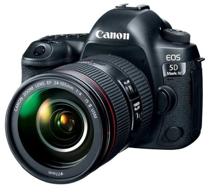 Зеркальный фотоаппарат Canon EOS 5D Mark IV Kit 24-105mm 4L IS II
