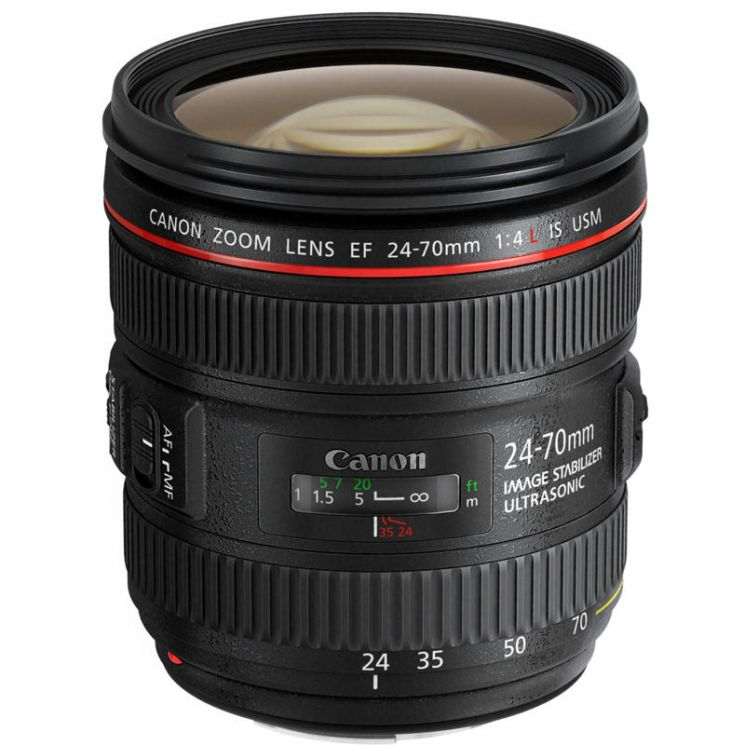 Объектив  Canon EF 24-70mm f/4L IS USM