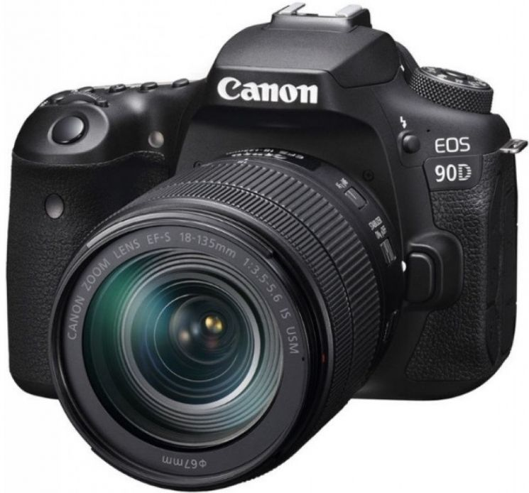 Фотоаппарат Canon EOS 90D Kit 18-135 IS USM