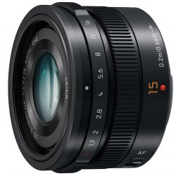 Panasonic Summilux 15mm f/1.7 Asph DG (H-X015E-K)