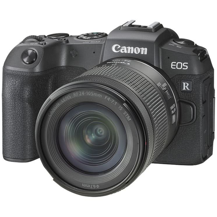 Canon EOS R Kit RF 24-105mm f/4-7.1 IS STM