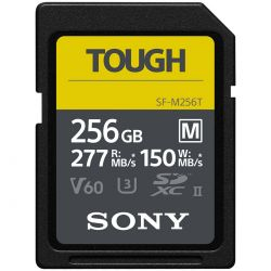 Карта памяти SDXC Sony 256GB 277R/150W Tough (SF-M256T/T)